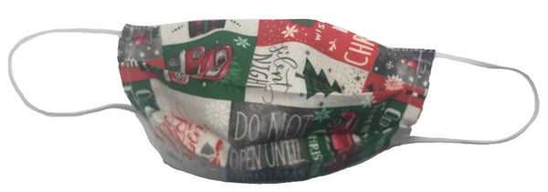 Christmas Jingle bells Facemask