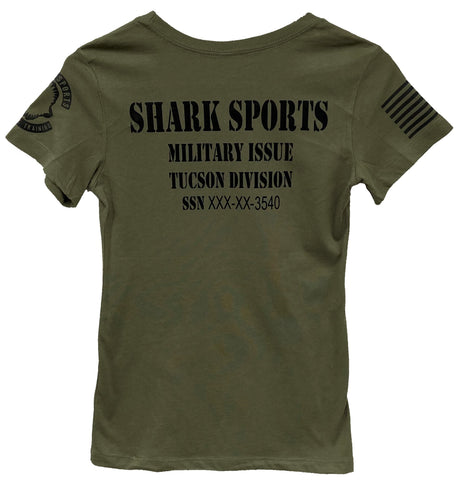 Women's Shark Military Appreciation Shirt
