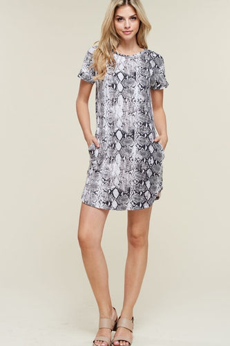 Python Dress with Pockets
