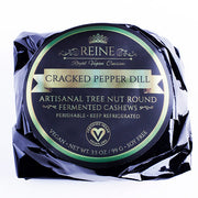 Cracked Pepper Dill - Reine Vegan Gourmet Aged Vegan Cheese