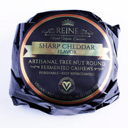 Sharp Cheddar - Reine Vegan Gourmet Aged Vegan Cheese