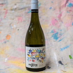 Rollick Wines First Step Fiano Label Artwork