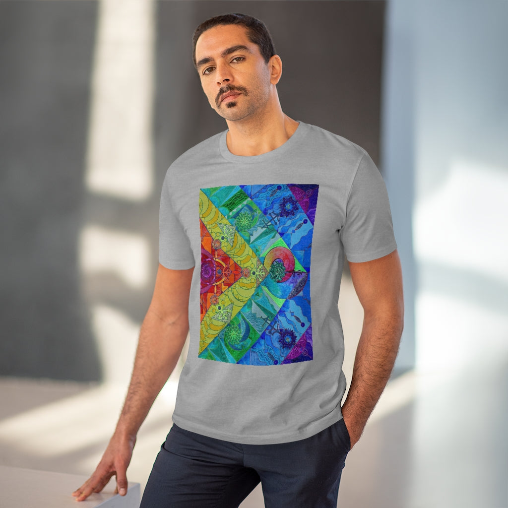 Expansion Pleiadian Lightwork Model - Organic T-shirt - Unisex