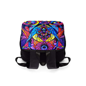 The Time Wielder - Unisex Casual Shoulder Backpack