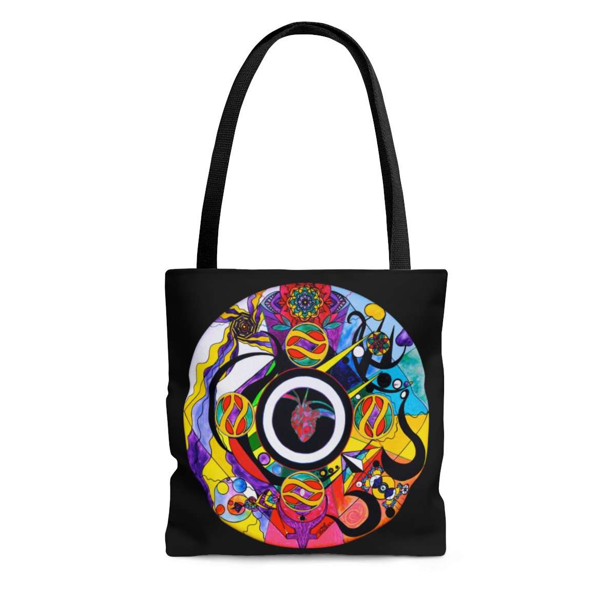 Self Esteem Matrix - AOP Tote Bag