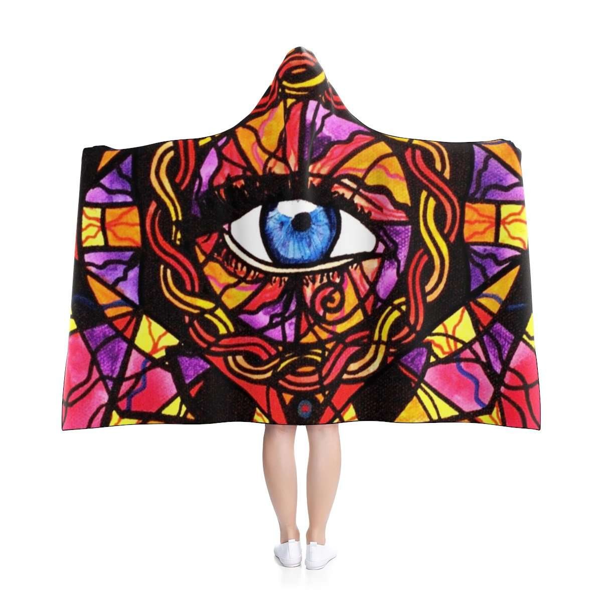 Confident Self Expression - Hooded Blanket