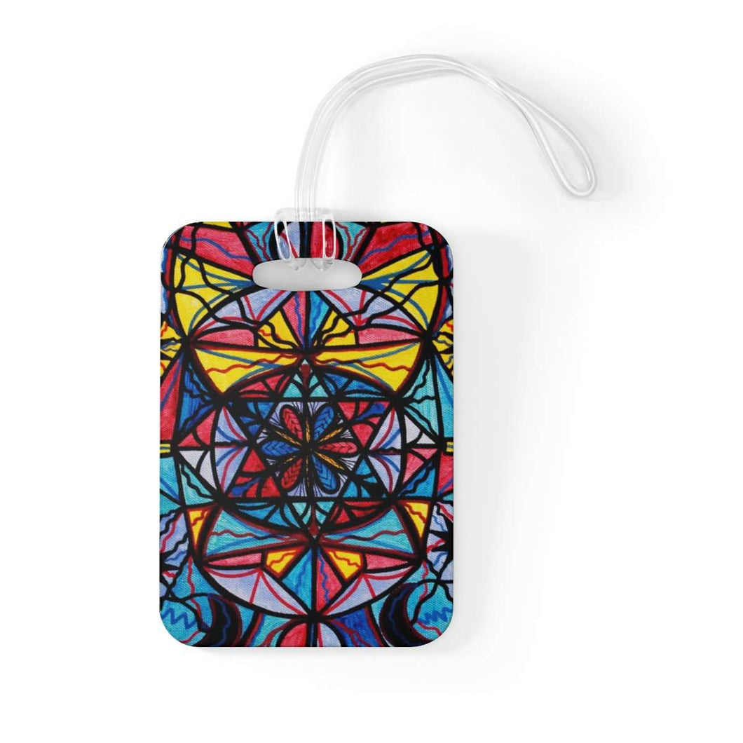 Open To The Joy Of Being Here - Bag Tag