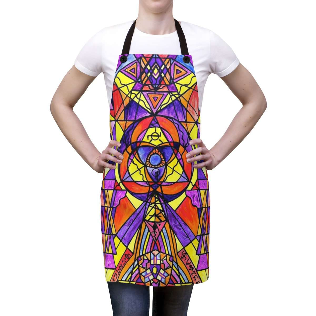 The Destiny Grid - Apron
