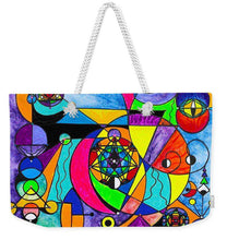 Load image into Gallery viewer, The Power Lattice - Weekender Tote Bag