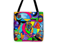 Load image into Gallery viewer, The Power Lattice - Tote Bag