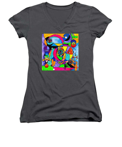 The Power Lattice - Women's V-Neck