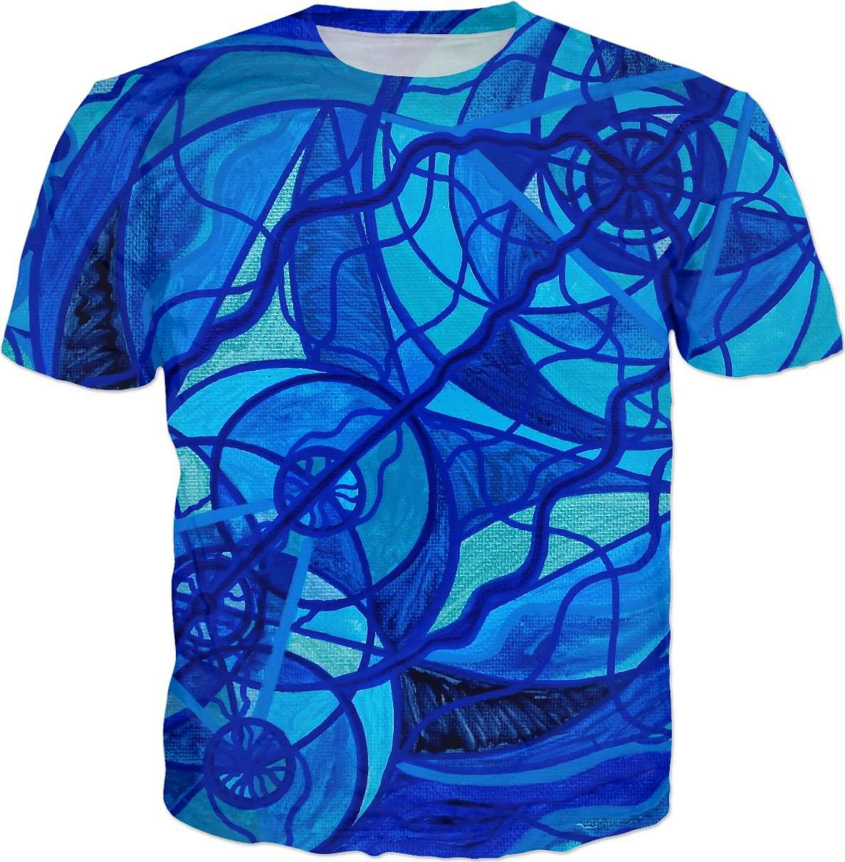 Arcturian Calming Grid - Men's T-Shirt