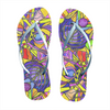 Breaking Through Barriers - Unisex Flip-Flops