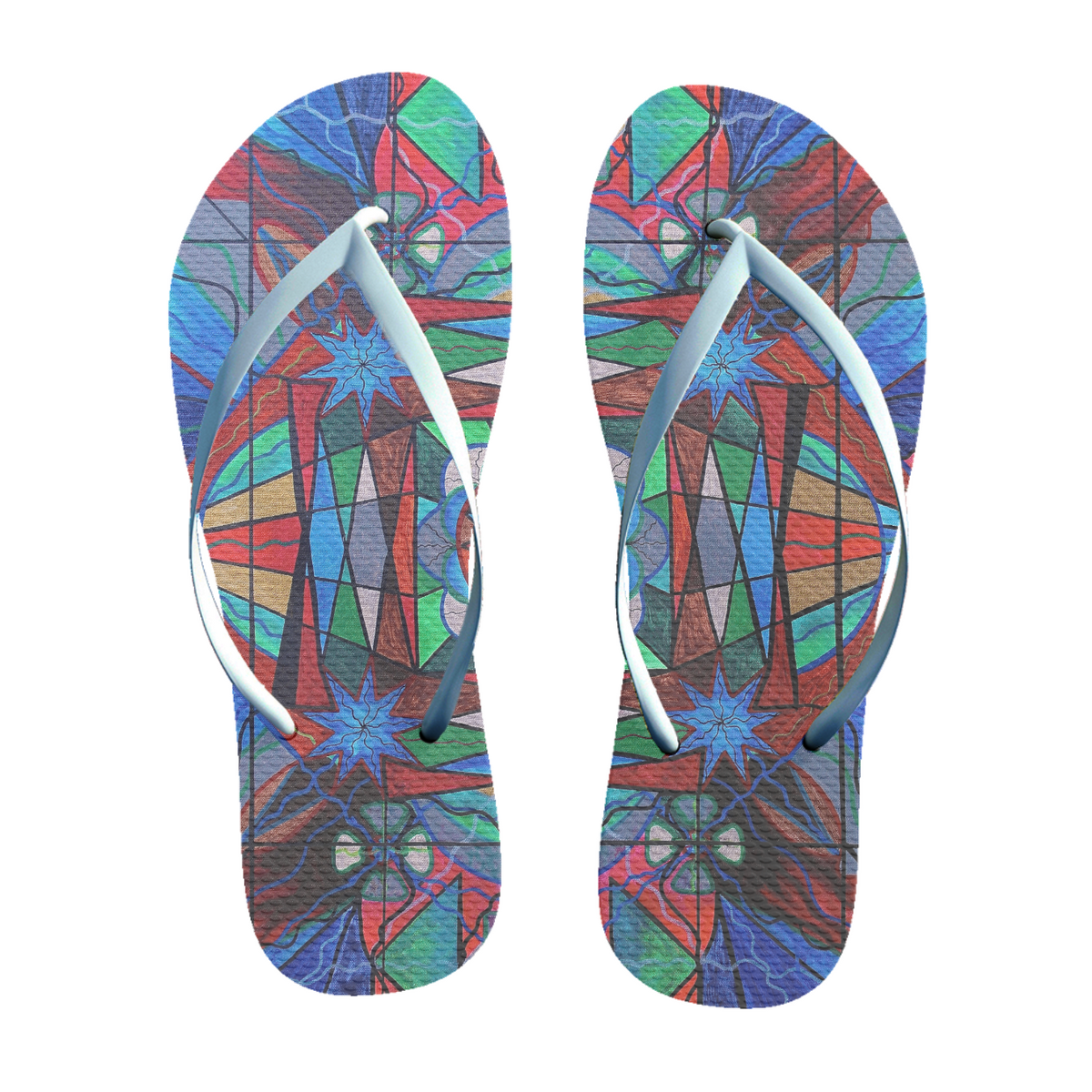 Sense of Security - Unisex Flip-Flops