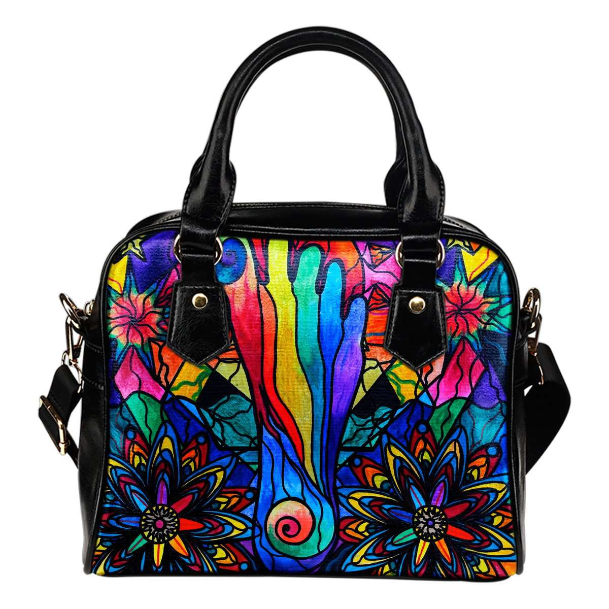 Moving Forward - Vegan Shoulder Handbag