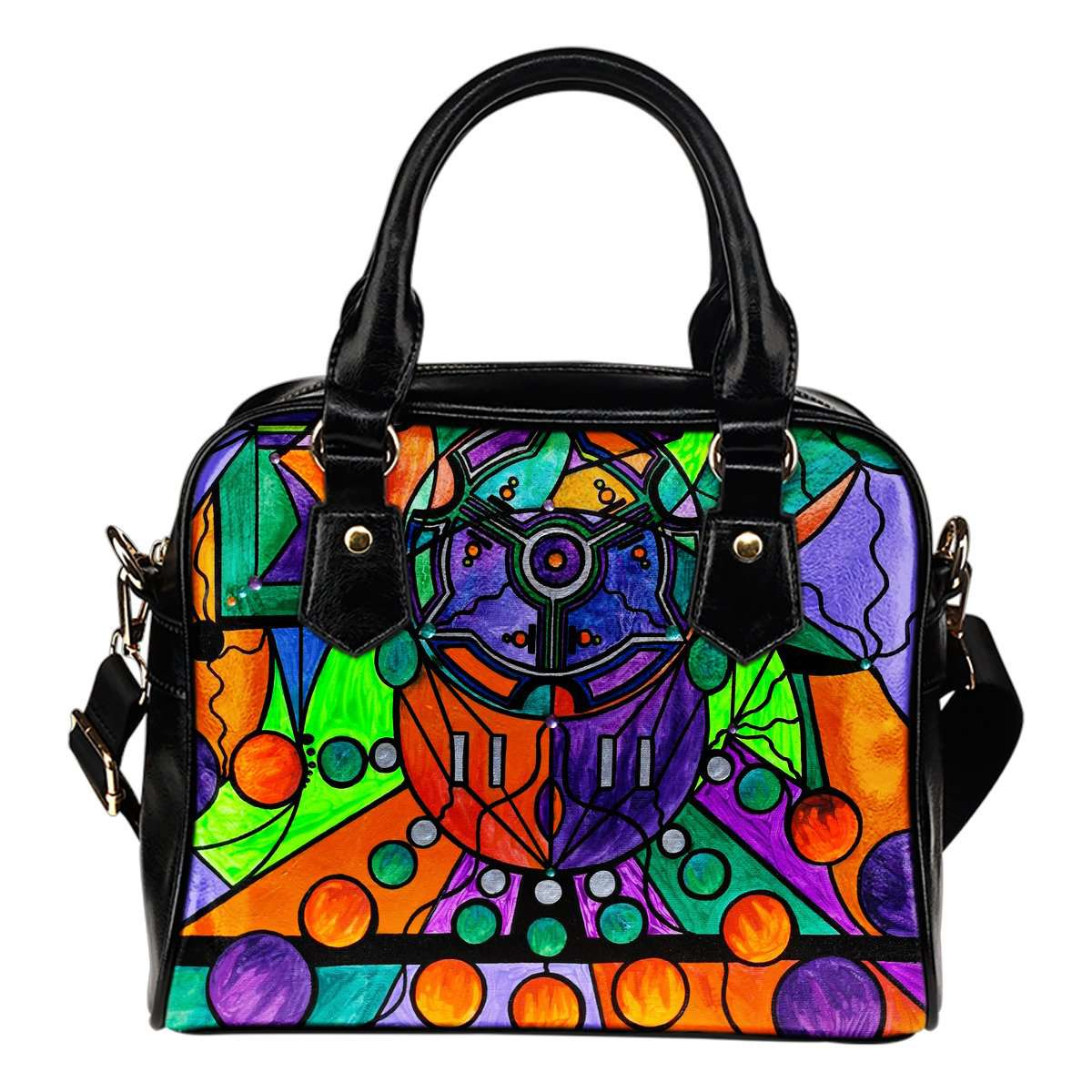 The Sheaf - Pleiadian Lightwork Model - Vegan Shoulder Handbag
