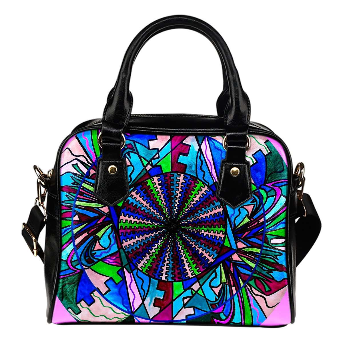 Pleiadian Lightwork Integration Model - Vegan Shoulder Handbag