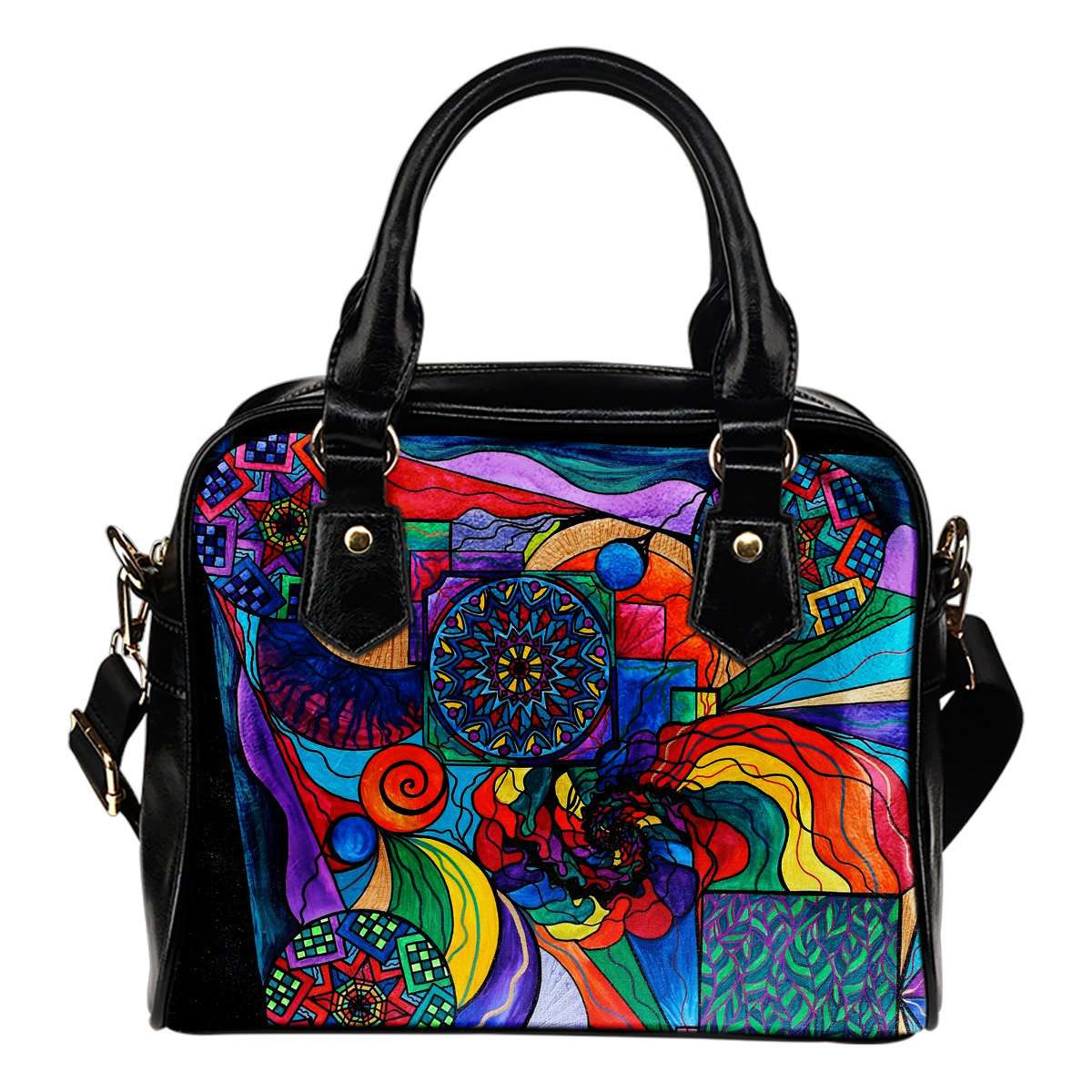 Self Exploration - Vegan Shoulder Handbag