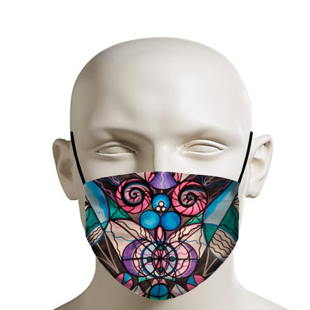 Arcturian Healing Lattice - Face Mask