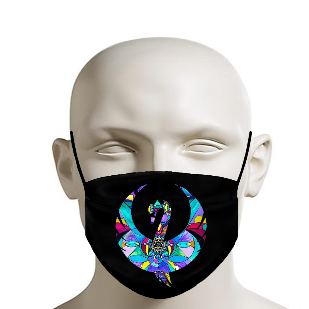 Frequency Swan Logo - Face Mask