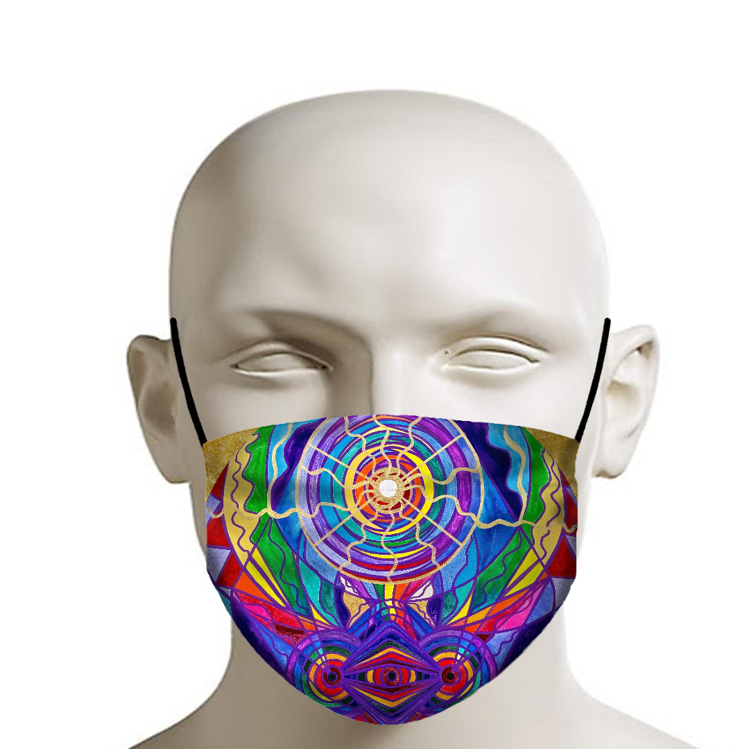 Raise Your Vibration - Face Mask