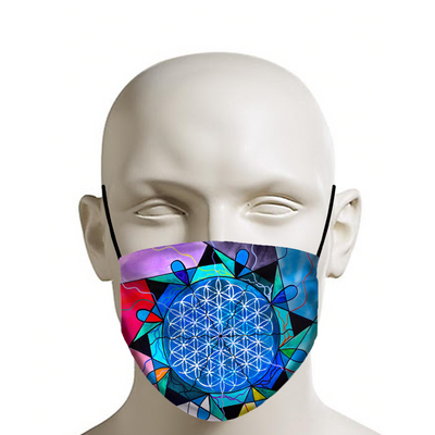 The Flower Of Life - Face Mask