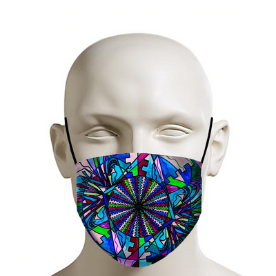 Pleiadian Integration Lightwork Model - Face Mask
