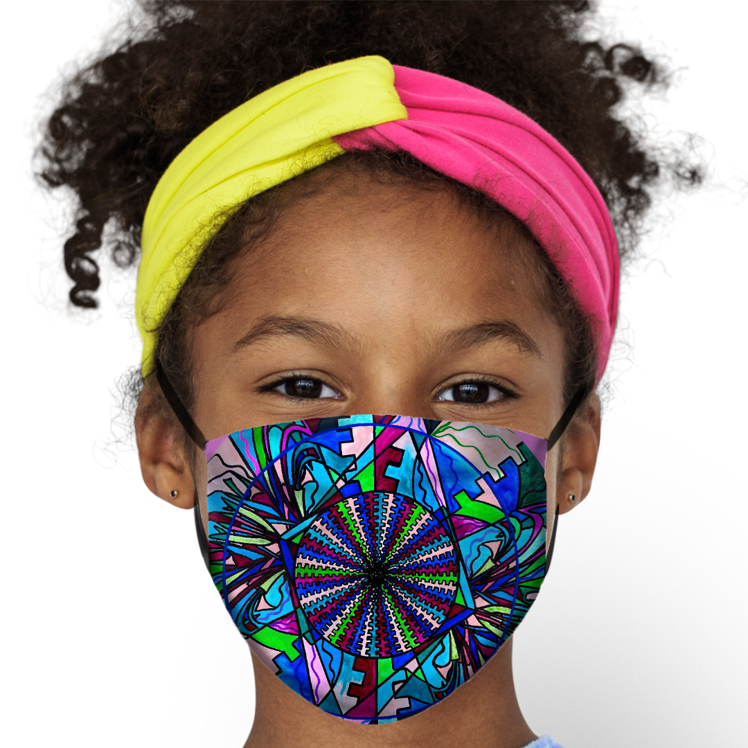 Kid's Face Mask - Pleiadian Lightwork Integration Model