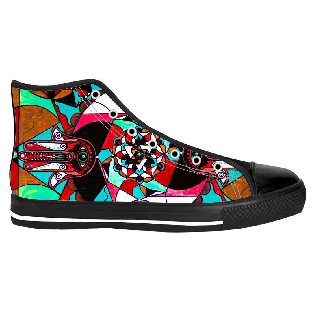 Aura Shield - Unisex High Top Shoes