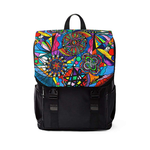 Soul Retrieval - Unisex Casual Shoulder Backpack