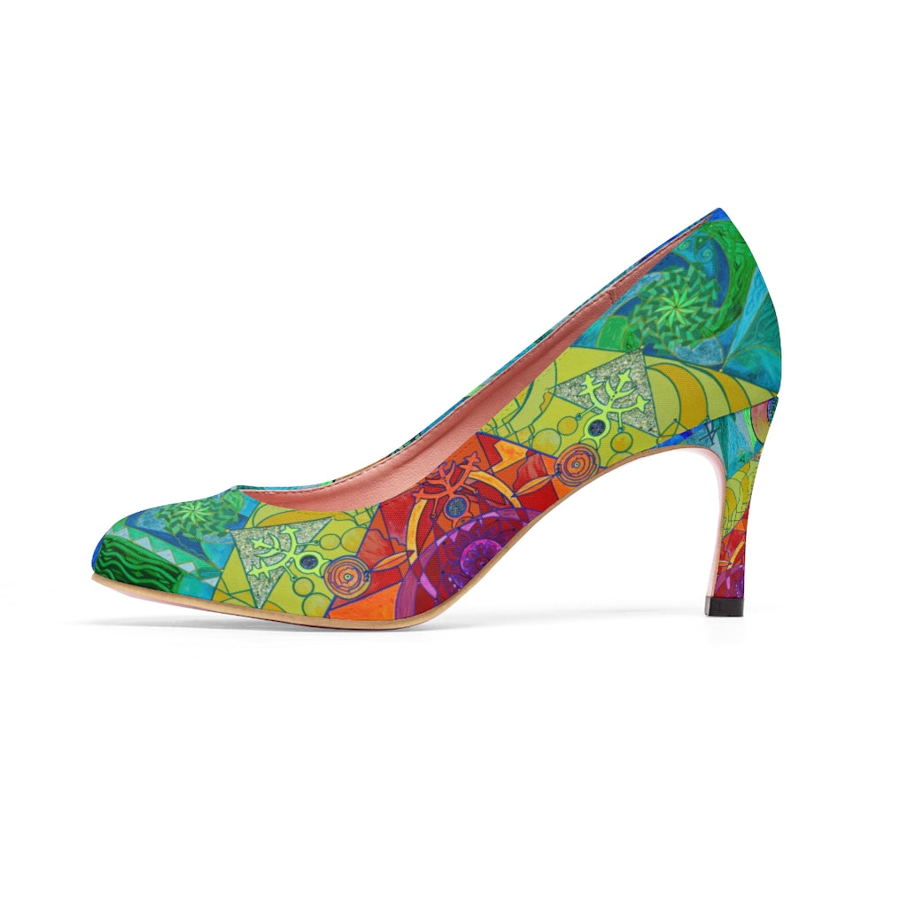 Expansion Pleiadian Lightwork Model - Women's High Heels