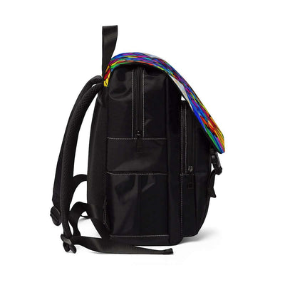 Elucidate Me - Unisex Casual Shoulder Backpack