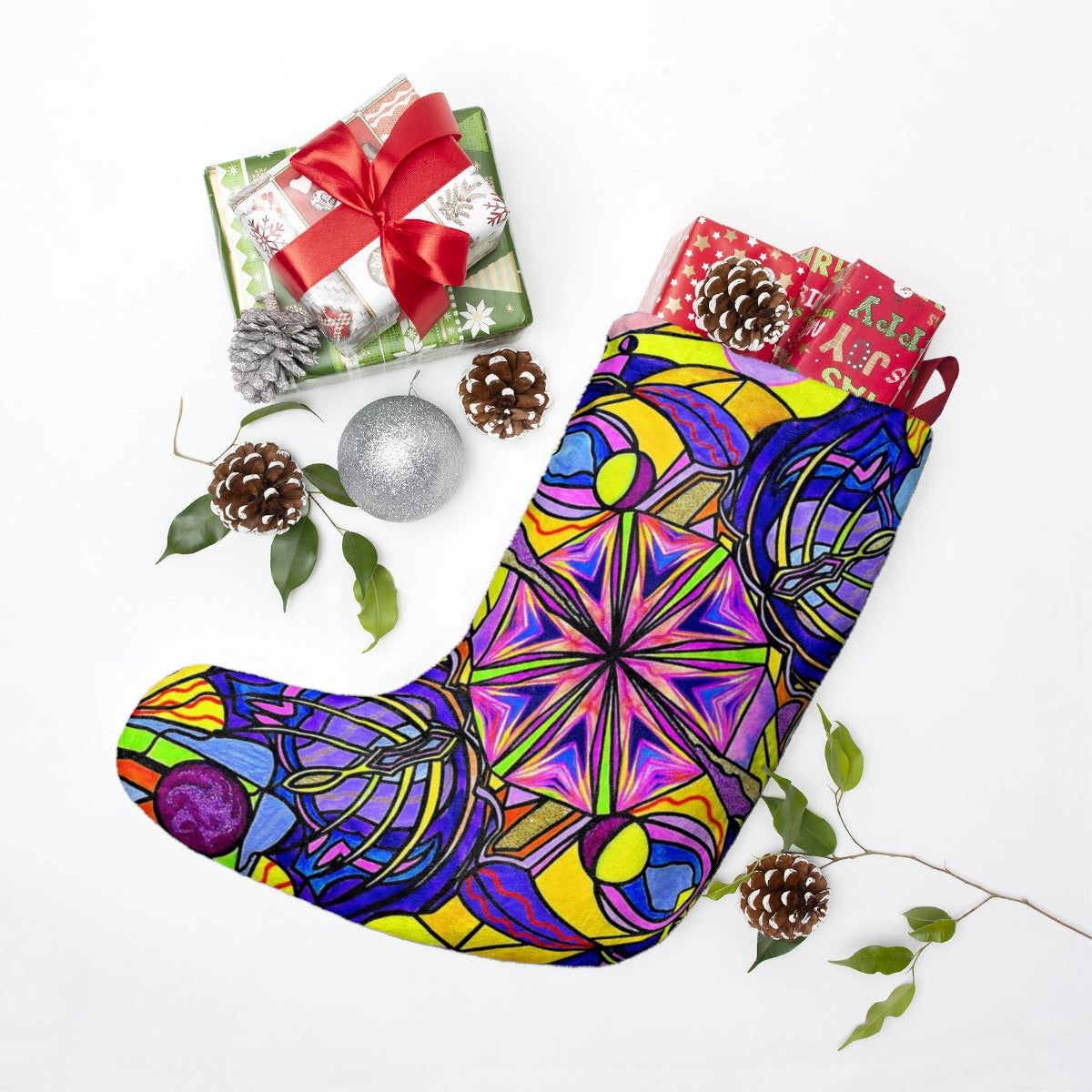 Breaking Through Barriers - Christmas Stockings