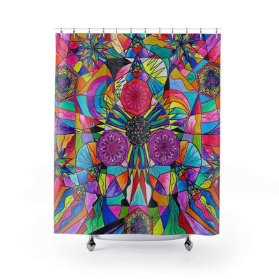 Positive Intention - Shower Curtains