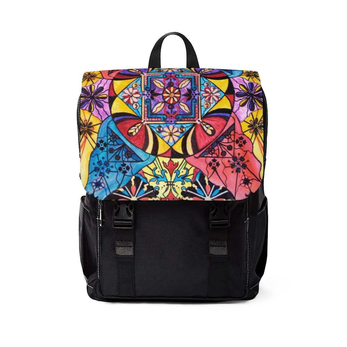 Worldly Abundance - Unisex Casual Shoulder Backpack
