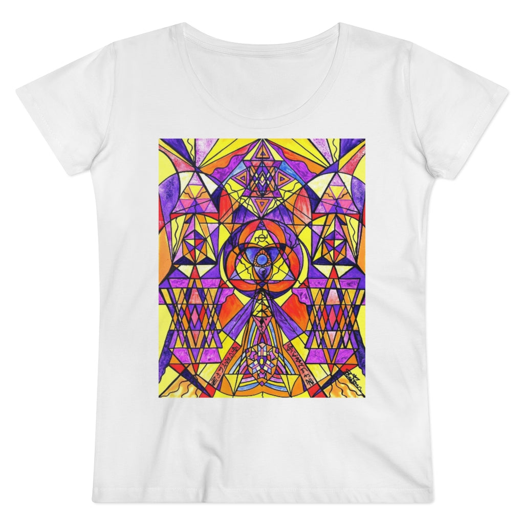 The Destiny Grid - Organic Women's Lover T-shirt