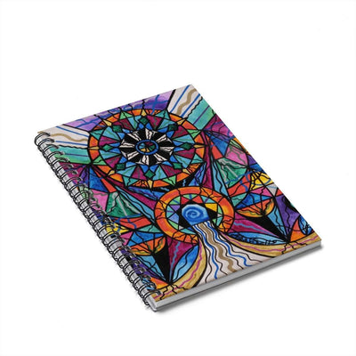 Moving Beyond - Spiral Notebook