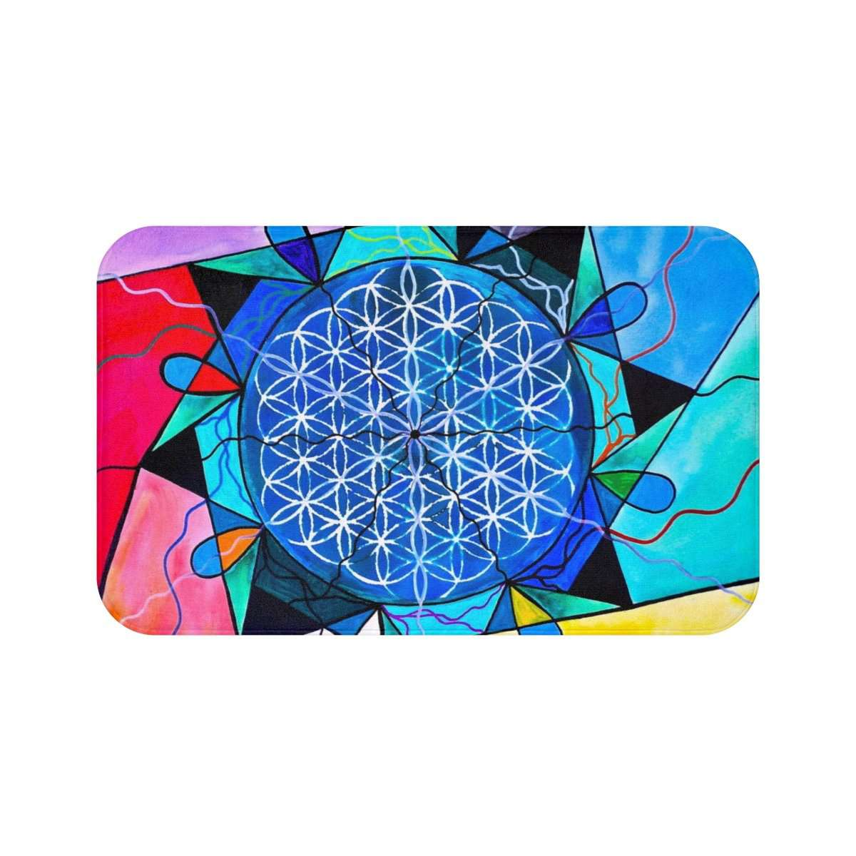 The Flower of Life - Bath Mat