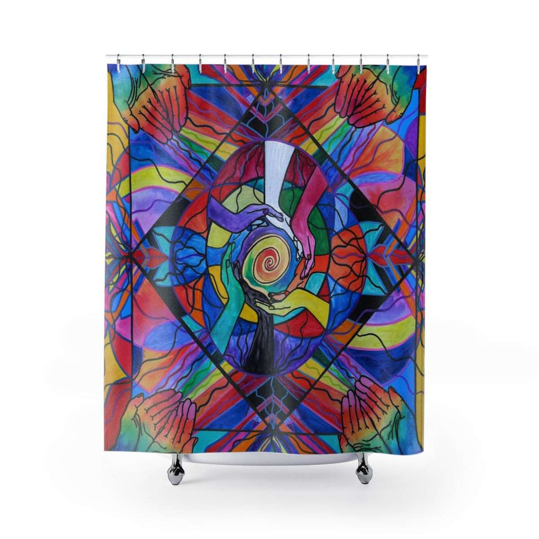 Come Together - Shower Curtains
