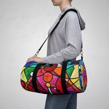 Load image into Gallery viewer, Arcturian Divine Order Grid - Duffle Bag