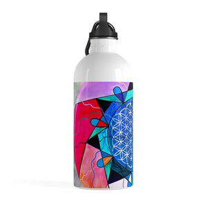 The Flower of Life - Stainless Steel Water Bottle