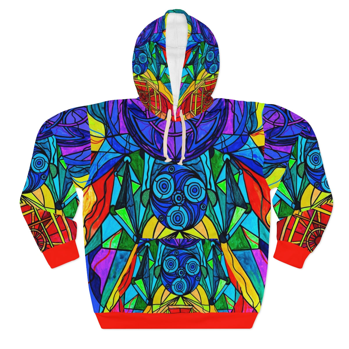 Arcturian Conjunction Grid - AOP Unisex Pullover Hoodie