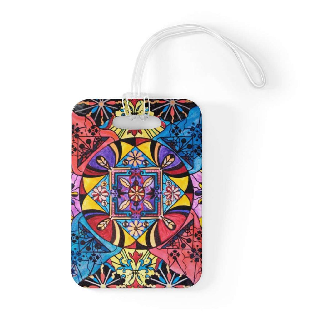 Worldly Abundance - Bag Tag