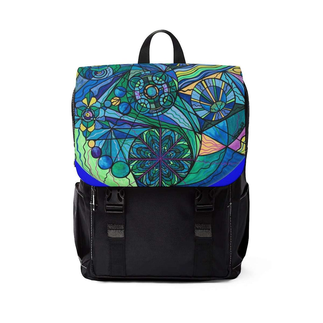 Arcturian Immunity Grid - Unisex Casual Shoulder Backpack