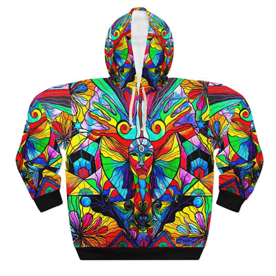 Human Self Awareness - AOP Unisex Pullover Hoodie