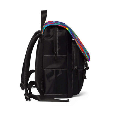 Speak From The Heart - Unisex Casual Shoulder Backpack