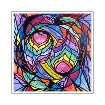 Authentic Relationship - Square Stickers