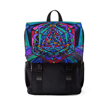 Load image into Gallery viewer, Pleiadian Coherence Lightwork Model - Unisex Casual Shoulder Backpack