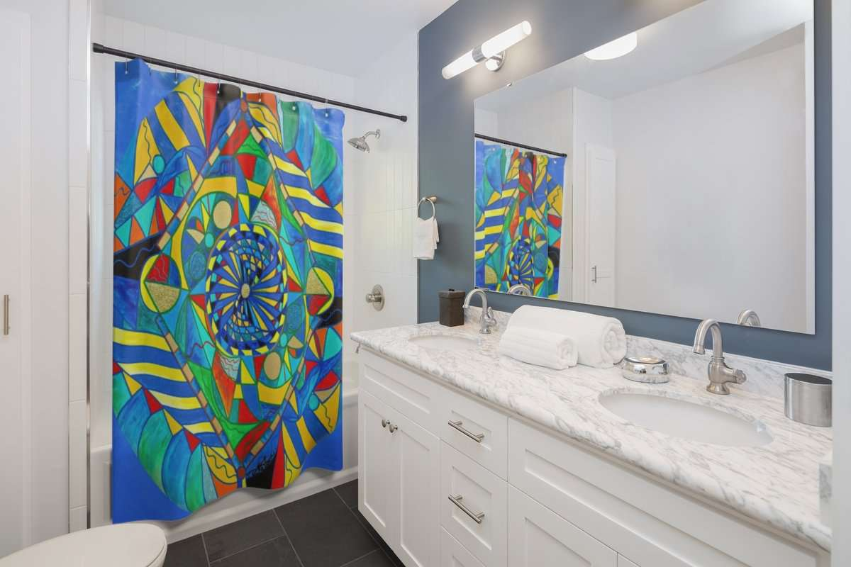 Ascended Reunion - Shower Curtains