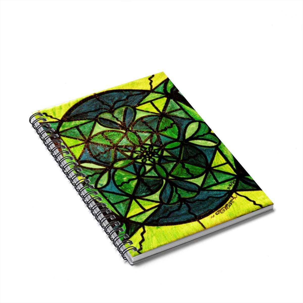 Green - Spiral Notebook